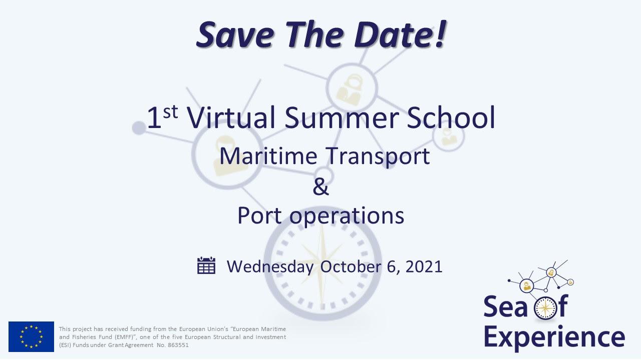 Sea of Experience virtual summer school